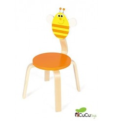 Scratch, silla infantil decoración abeja Billie