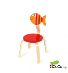 Scratch - silla infantil decoración pez Maurice