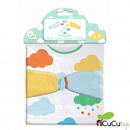 Djeco -Delantal de colores para peques