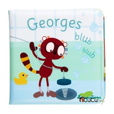 Lilliputiens - Libro de baño Georges Blub Blub
