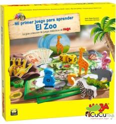 HABA - Mi primer juego para aprender: El Zoo, juego de mesa