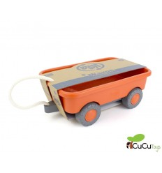 GreenToys - Vagón de juguetes, juguete ecológico
