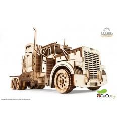 UGears - Camión semirremolque VM-03, kit de madera 3D