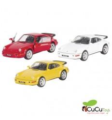 Welly - Porsche 911 Turbo (tipo 964), coche de juguete