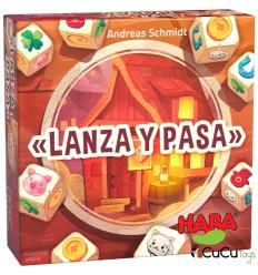 HABA - Lanza y Pasa, juego de mesa