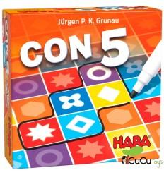 HABA - Encontrar 5!, jogo de mesa