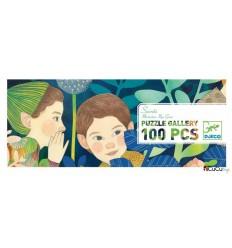 Djeco - Secretos, puzzle de galería 100 pz