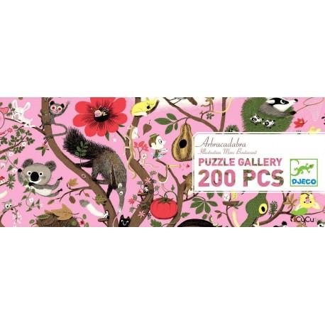 Djeco - Paseo maravilloso, puzzle de galería 350 pz
