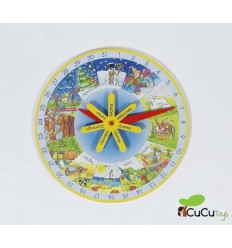 GOKI - Reloj anual Aprende el calendario