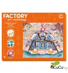 Djeco - Factory: Cuadros luminosos - Odisea