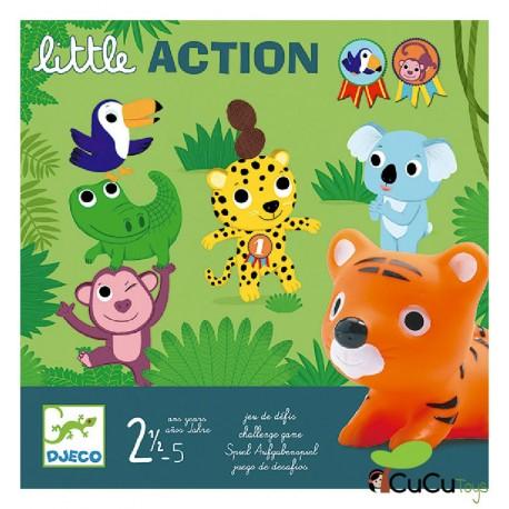 Djeco - Little Action, juego de mesa