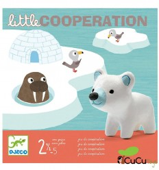 Djeco - Little Cooperation, juego de mesa