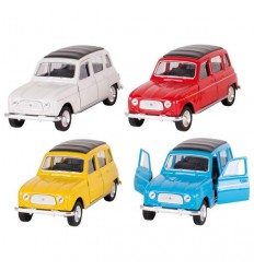 "Welly - Renault 4L ""cuatrolatas"", coche de juguete"