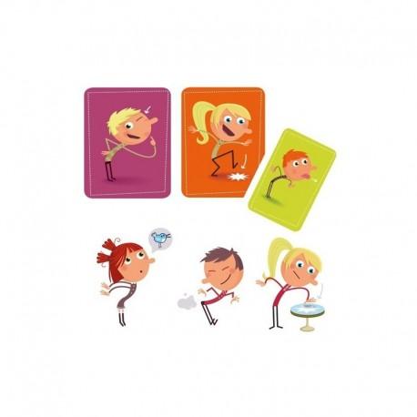 Djeco - Cartas Tip Top Clap, juego de mesa