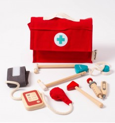 Plantoys - Doctor Set, juguete de madera