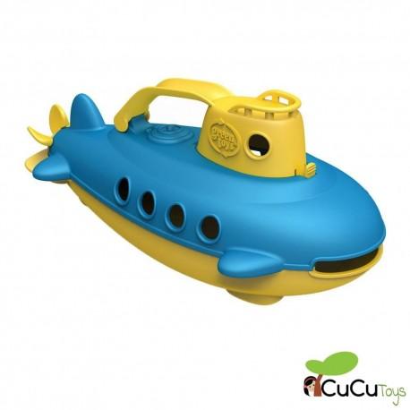 GreenToys - Submarino de juguete, juguete de baño
