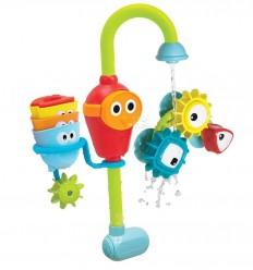 """Yookidoo - Grifo encaja y gira """"Pro"""", juguete de baño"""