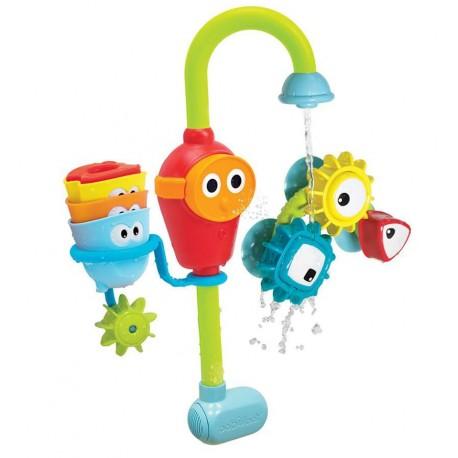 Yookidoo - Grifo encaja y gira Pro, juguete de baño
