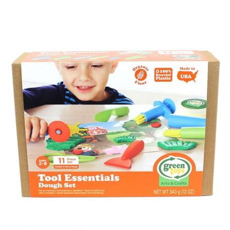 Greentoys - Set herramientas eco plastilina