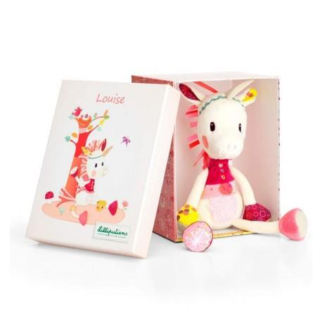 Lilliputiens - Louise la unicornia, muñeco de peluche