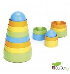 GreenToys - Mi primer apilable, juguete ecológico