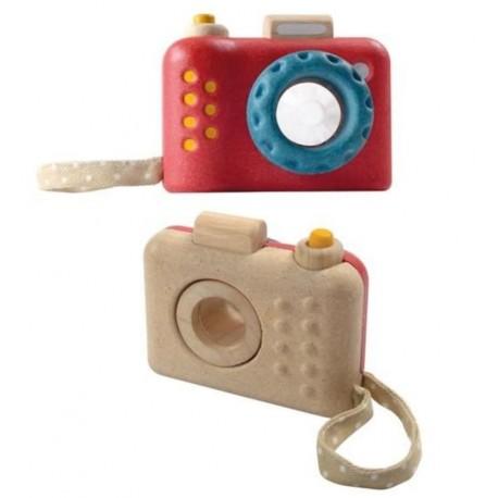 Plantoys - Cámara de fotos, juguete de madera