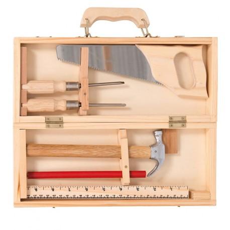Moulin Roty - Caja de Herramientas pequeña (6 piezas)