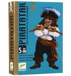 Djeco - Piratatak, juego de cartas