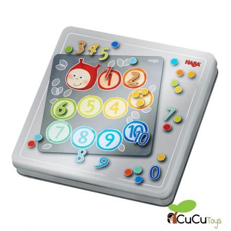 HABA - Números, caja de juego magnético