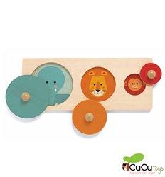 Djeco - BigaBasic, Sizes puzzle