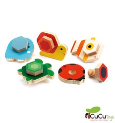 Djeco - TournaBasic, Assemby Toy