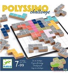 Djeco - Polyssimo challenge, juego de estrategia