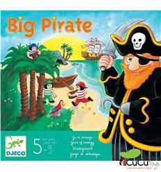 Djeco - Big Pirate, strategy game