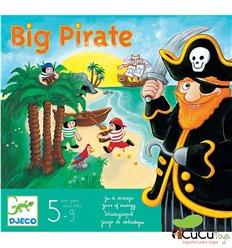 Djeco - Big Pirate, strategy game