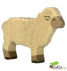 Goki - Hand carved wood Sheep