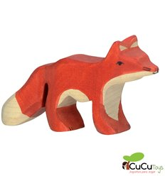 Goki - Hand crafted wood little Fox