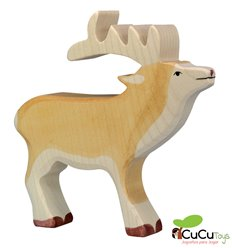 Goki - Hand crafted wood Stag