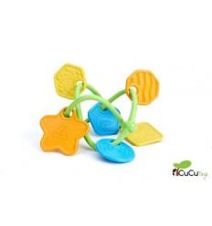 GreenToys - Mordedor sonajero twist, juguete ecológico