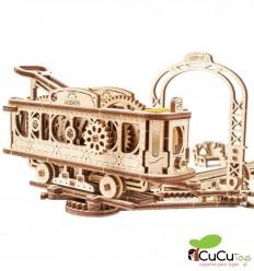 UGears - Tranvia, kit de madera 3D