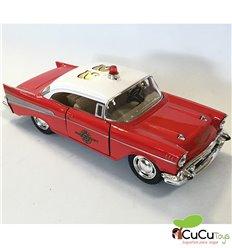 Kinsmart - 1957 Chevrolet Bel Air (Fire Chief) - Cucutoys