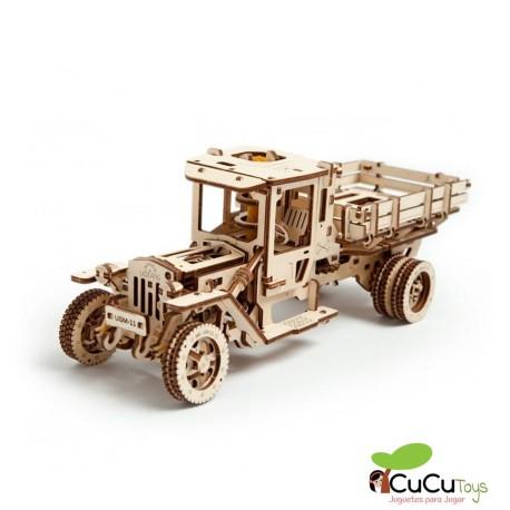 UGears - UGM-11 Truck, 3D mechanical model