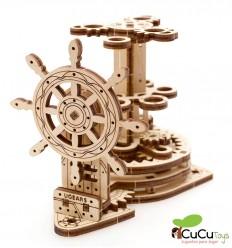UGears - Timón Portalápices, kit de madera 3D