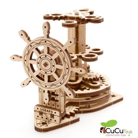 UGears - Wheel Organizer, 3D mechanical model