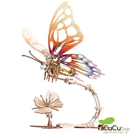UGears - Butterfly, 3D mechanical model