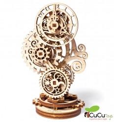 UGears - Reloj Retrofuturista, kit de madera 3D