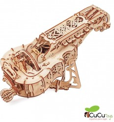 UGears - Aviator, kit de madera 3D