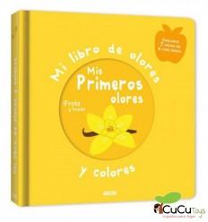 Mi libro de olores y colores. Mis primeros olores - Auzou