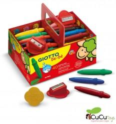 Giotto - Pack escolar 40 ceras para bebés