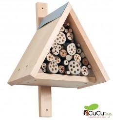 HABA - Terra Kids Kit de construcción Hotel para insectos - Cucutoys