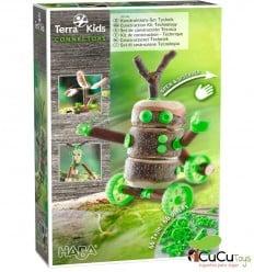 HABA - Terra Kids Conectores – Set de construcción Técnica - Cucutoys